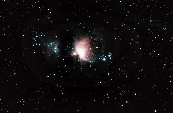 M42 - Orion Nebula first try - астрофотография