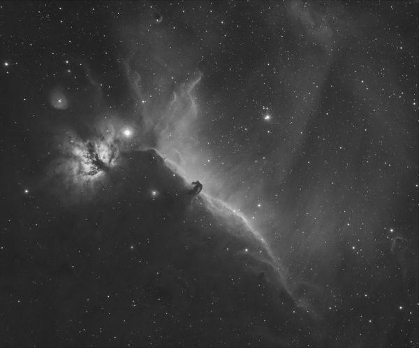 Horsehead nebula - астрофотография