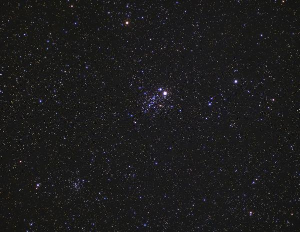 Стрекоза NGC457 и NGC 436 - астрофотография
