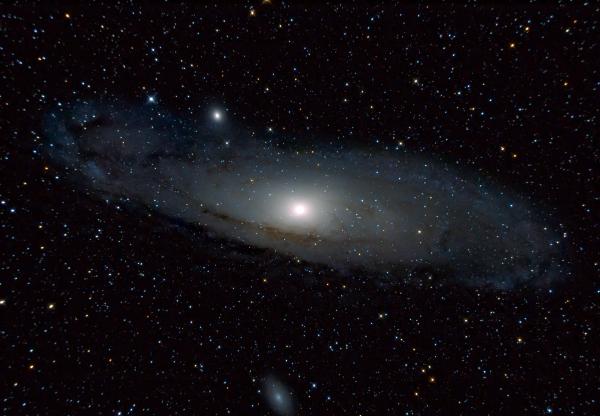 Галактика Андромеды - M31 - астрофотография