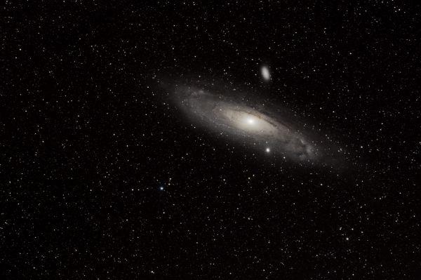 """Галактика М31 """"Туманность Андромеды"""" - астрофотография"""