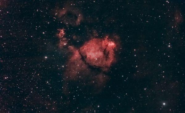 The Fish head nebula (IC1795) - астрофотография