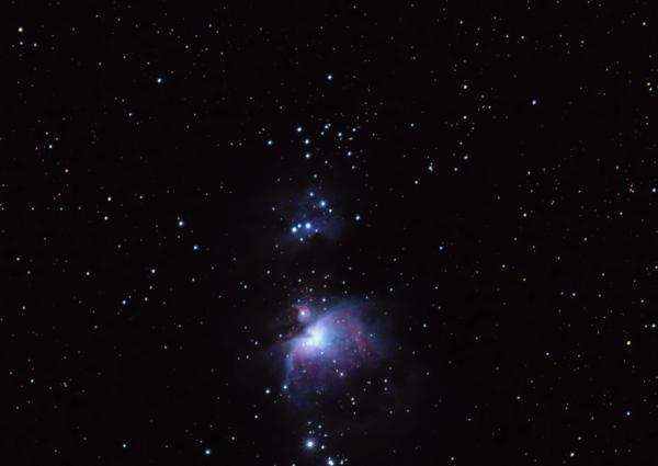 М42-Туманность Ориона - астрофотография
