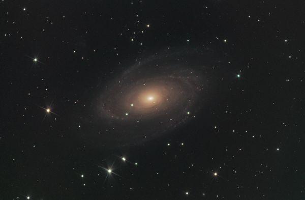 Галактика Боде, M 81 - астрофотография
