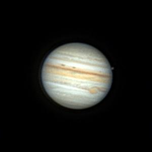 Юпитер и Каллисто 23.08.2021 - астрофотография