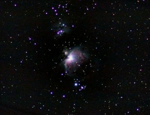 Туманность Ориона - астрофотография