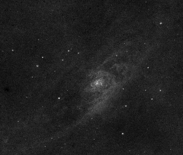 Ядро Галактики Андромеды, М31,  R - G - астрофотография
