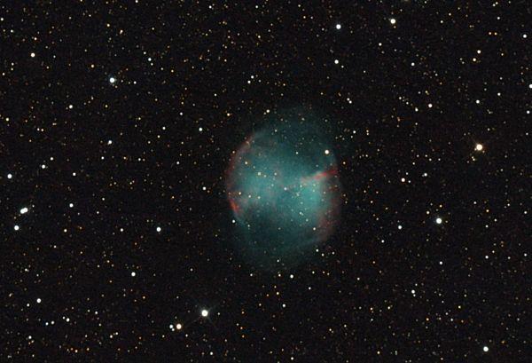 M27 -Туманность Гантель - астрофотография