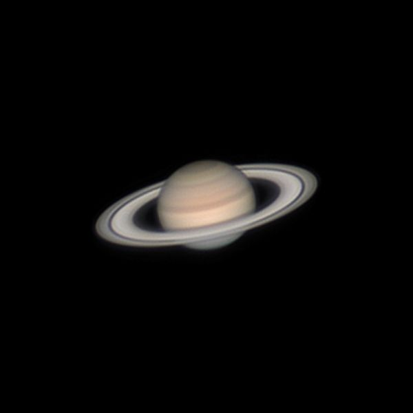Сатурн 27.07.2021 00:44 МСК - астрофотография