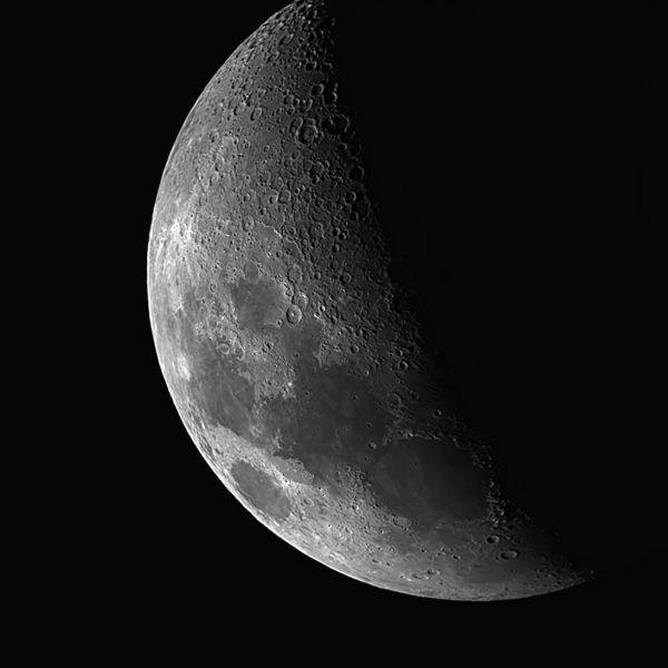 Луна 18.05.21 - астрофотография