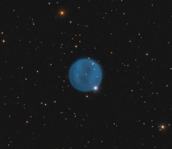 The Diamond Ring Nebula, Abell 33 (PNG 238.0 + 34.8, PK 238 + 34.1) - астрофотография
