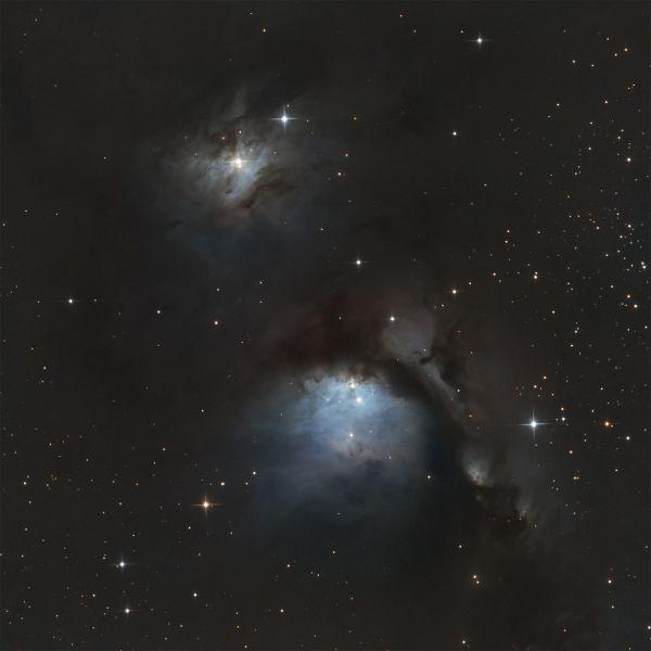 Messier 78 - астрофотография