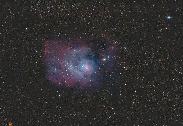 Lagoon Nebula - M8 - астрофотография