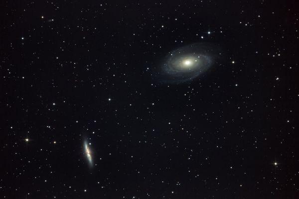 M81 & M82 GALAXIES - астрофотография