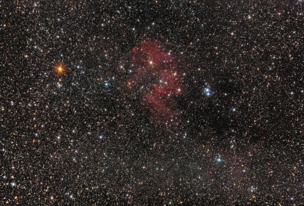 Туманность SH2-132 - астрофотография