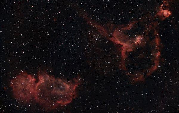 Душа и Сердце - астрофотография