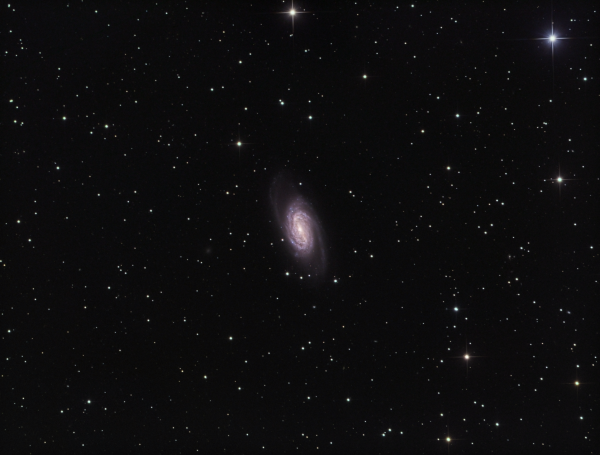 NGC 2903 in Leo LRGB - астрофотография