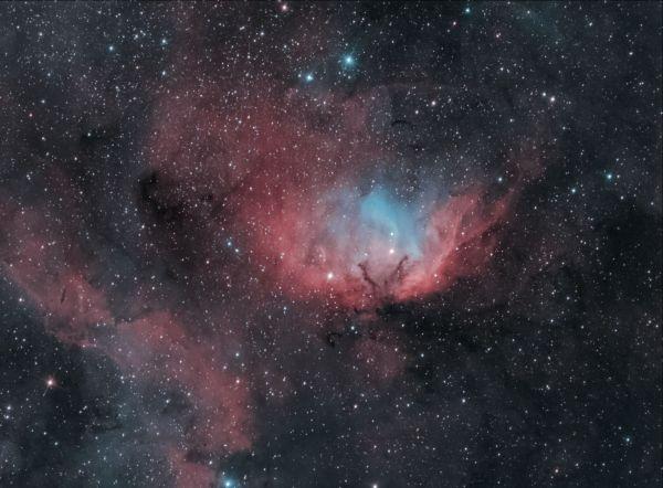 SH2-101 Тюльпан - астрофотография