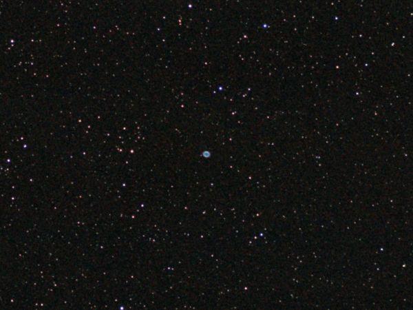 Планетарная туманность М57 - астрофотография