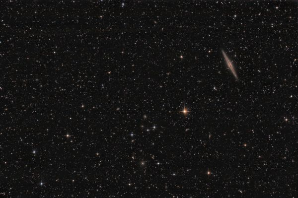 Abell 347 и NGC 891 - астрофотография