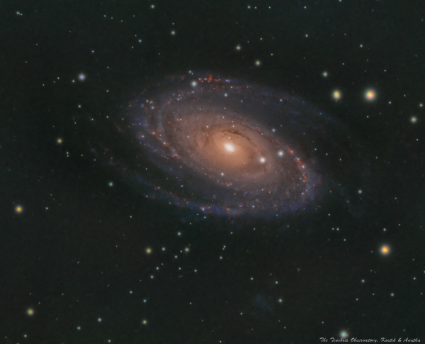 M81, Bode's galaxy - астрофотография