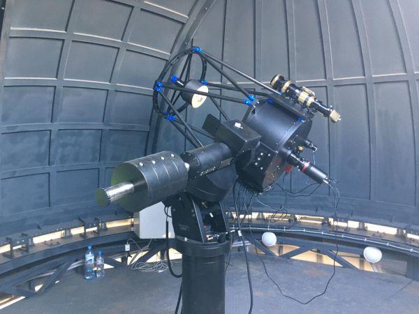 Труба РК 500 в обсерватории - астрофотография
