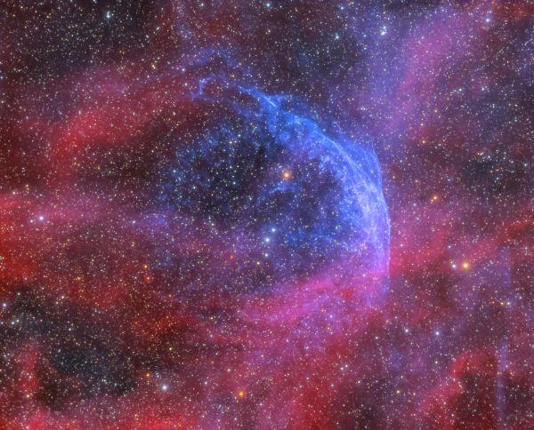 Wolf-Rayet 134 (WR 134) - астрофотография