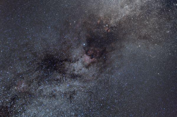 Cygnus region (2018) - астрофотография