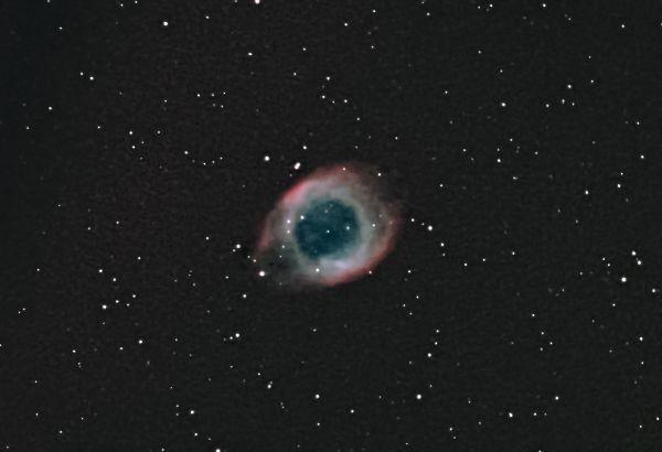 Helix Nebula - NGC 7293 - астрофотография