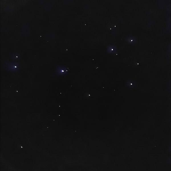 Плеяды (М45) - астрофотография