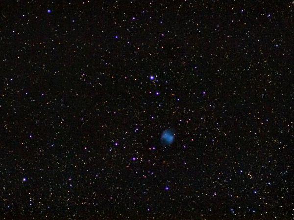 Планетарная туманность М27 - астрофотография