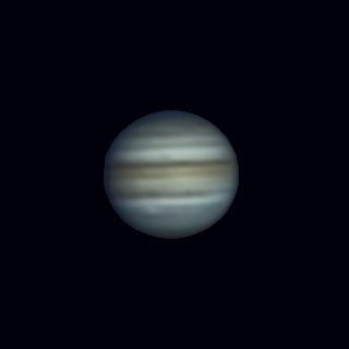 Jupiter 18-10-2021 - астрофотография