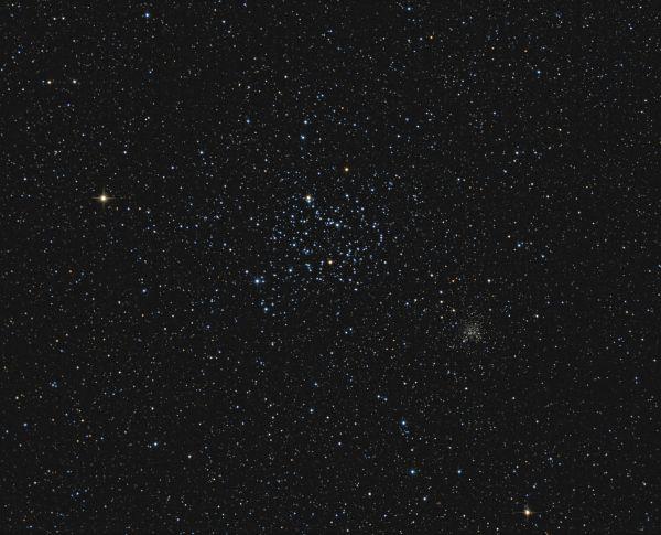 M35 & NGC2158 - астрофотография