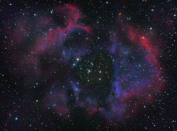 """Эмиссионная туманность """"Розетка"""" или NGC 2237 - астрофотография"""
