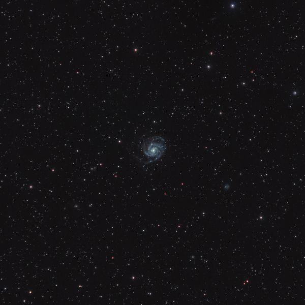 M101 Галактика Вертушка - астрофотография