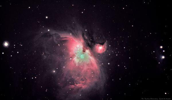 M42, мои первые шаги в астрофото - астрофотография