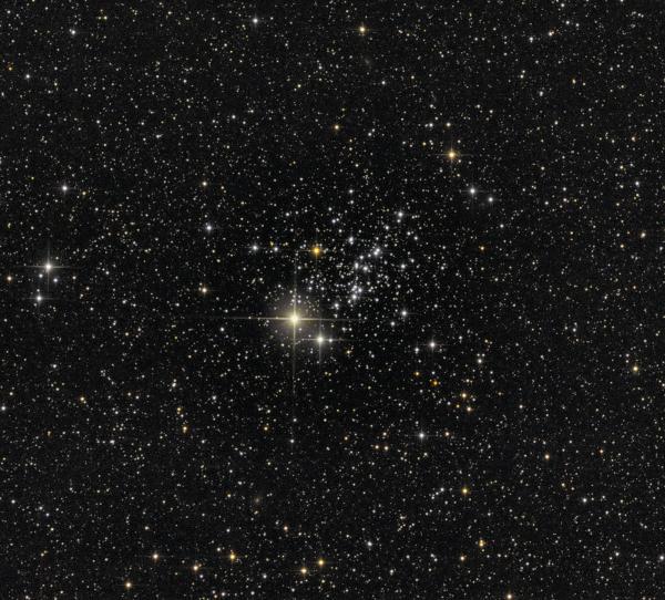 """NGC 457  """"Стрекоза"""" - астрофотография"""
