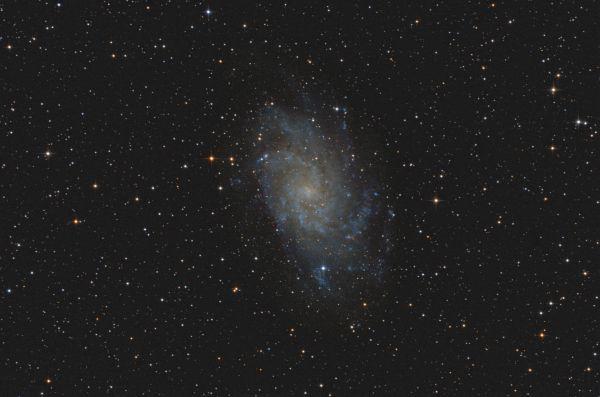 Triangulum Galaxy - M33 - астрофотография