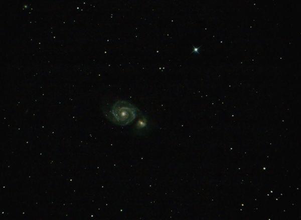 M51 Водоворот - астрофотография