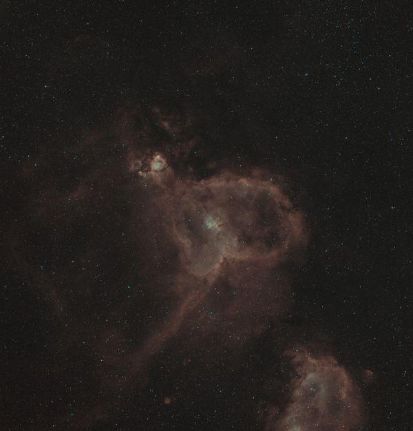 IC 1805 Туманность Сердце - астрофотография