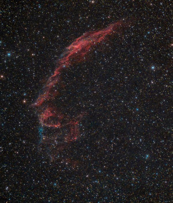 NGC 6992.Новая версия. - астрофотография