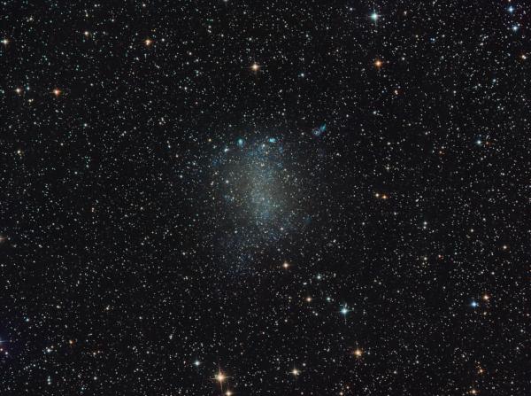 NGC 6822 Barnard's Galaxy - астрофотография