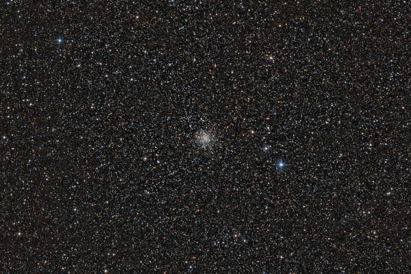 Globular cluster M71 - астрофотография