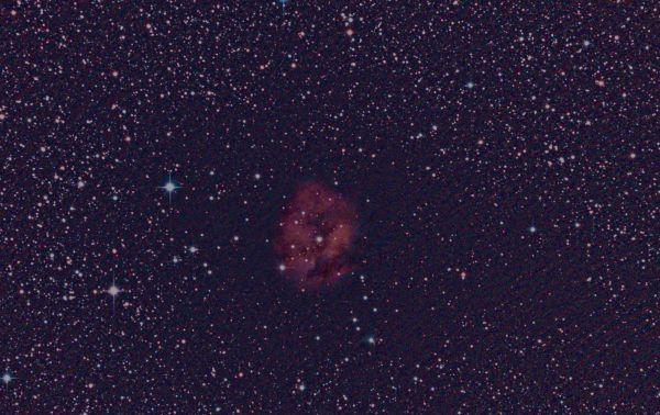 IC 5146 - Cocoon Nebula - астрофотография