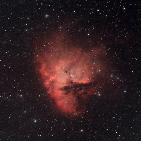 NGC281 Pacman - астрофотография