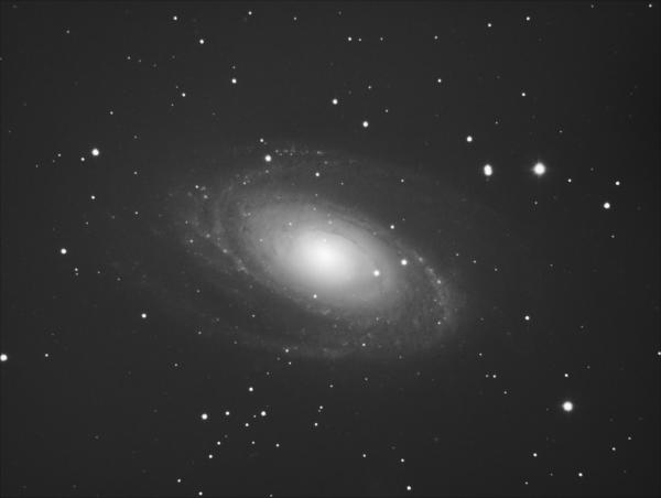 M81 The Bode Galaxy - астрофотография
