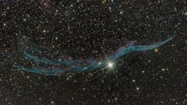 NGC 6960 «Ведьмина метла» - астрофотография