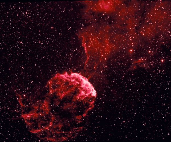 IC443 - астрофотография