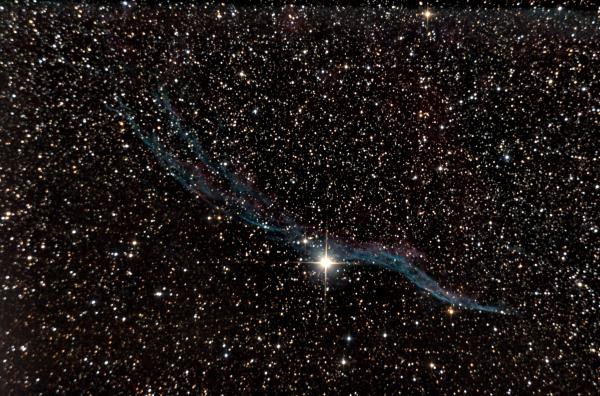 NGC 6960 witch s broom nebula - астрофотография