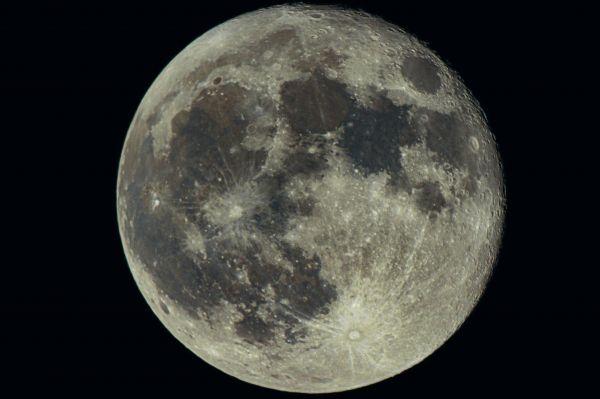 Луна-22.10.2021 - астрофотография
